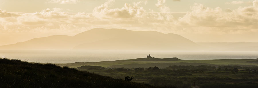 Classiebawn Castle and Slieve League