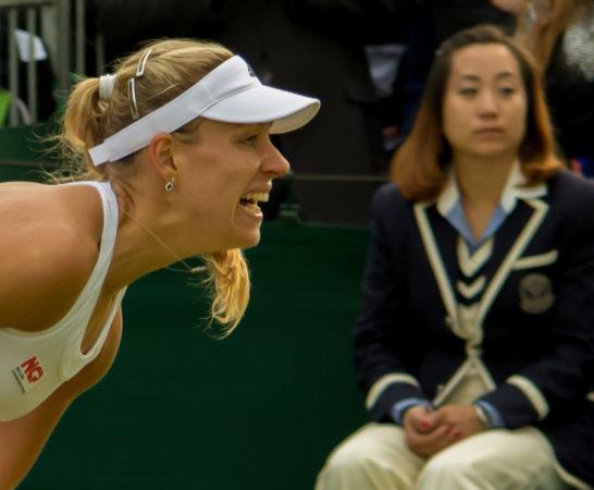 Angelique Kerber at Wimbledon tennis