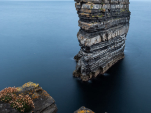 Downpatrick head in Mayo