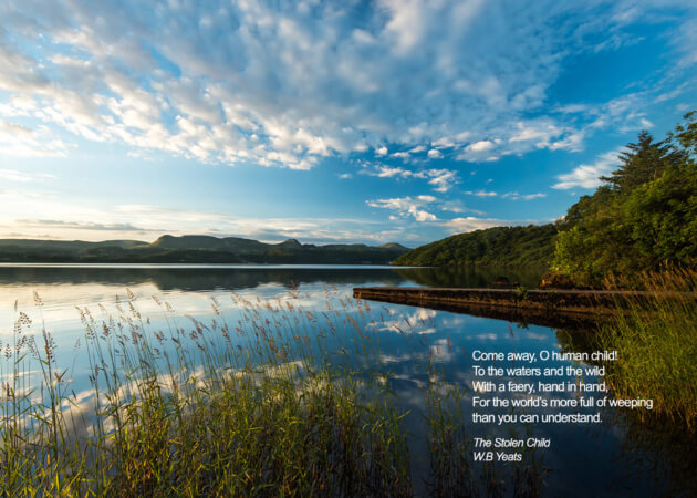 The Stolen child - WB Yeats, Lough Gill, Sligo