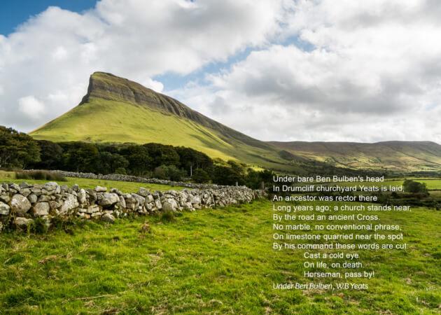 Under Ben Bulben, by WB Yeats