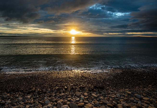 Sunset at Strandhill